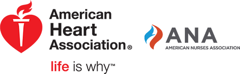 American Heart Association and ANA Logos